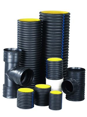 HDPE Corrugated Pipes Double Wall | Zeep Construction